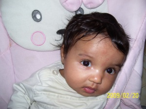 Sarah, februray 2009