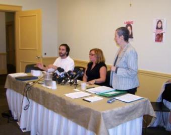 Conférence de presse, 9 juillet 2008
