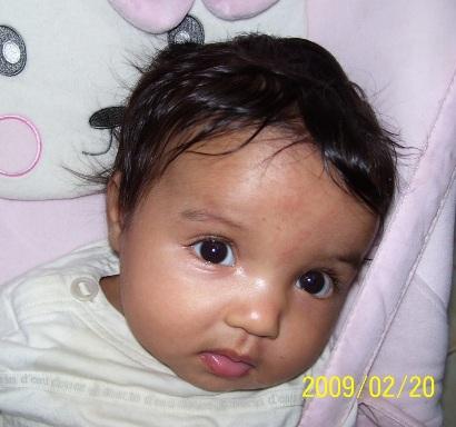 Sarah, 3 mois